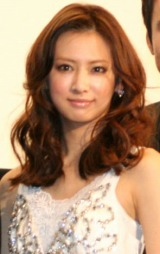 主演映画『花のあと』の完成披露舞台あいさつに登壇した北川景子 (C)ORICON DD inc.