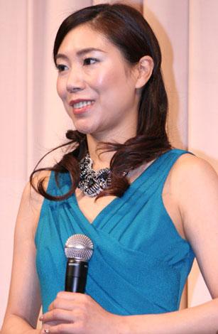映画『COACH 40歳のフィギュアスケーター』の完成披露試写会に出席した西田美和 (C)ORICON DD inc.