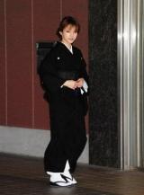 母・時子さんの告別式に和装の喪服姿で現れた後藤真希