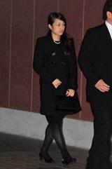 後藤真希の母・時子さんの告別式に参列したGIRL NEXT DOORの千紗 (C)ORICON DD inc.