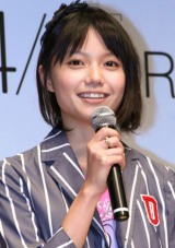 主演映画『ャ宴jン』の完成披露試写会に出席した宮崎あおい (C)ORICON DD inc.