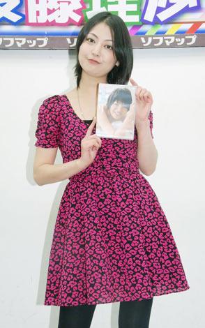 DVD『AQUA』の発売記念イベントを行なった後藤理沙(C)ORICON DD inc.