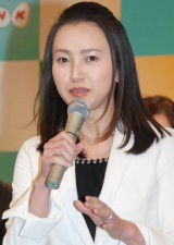 NHKが2010年の新キャスター21名を発表、『おはよう日本』の司会を担当する島津有理子アナウンサー (C)ORICON DD inc.