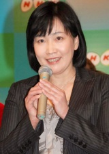 NHKが2010年の新キャスター21名を発表、『小さな旅』の司会を担当する森田美由紀アナウンサー (C)ORICON DD inc.