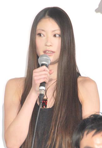 映画『ライアーゲーム ザ・ファイナルステージ』完成披露イベントに出席した関めぐみ (C)ORICON DD inc.