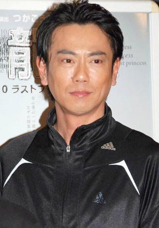 舞台『飛龍伝2010 ラストプリンセス』の公開稽古を行った東幹久 (C)ORICON DD inc.