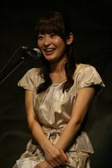CDブック『Try Little Love 〜チギレグモノ、ソラノシタ〜』の発売記念朗読イベントに登場した高樹千佳子