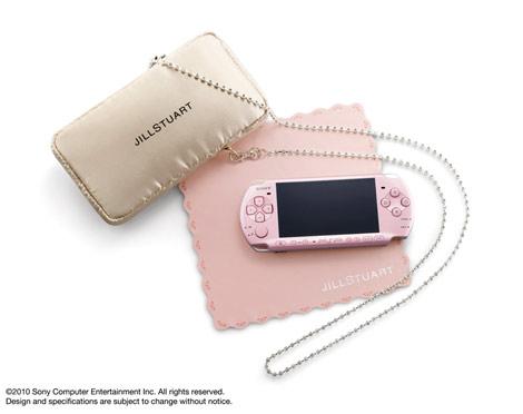 サムネイル 特別限定商品『PSP「プレイステーション・ポータブル」 JILLSTUART 「Sweet Limited Package」』