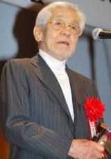映画『釣りバカ日誌』で『2010年エランドール賞』作品賞を受賞した三國連太郎 (C)ORICON DD inc.