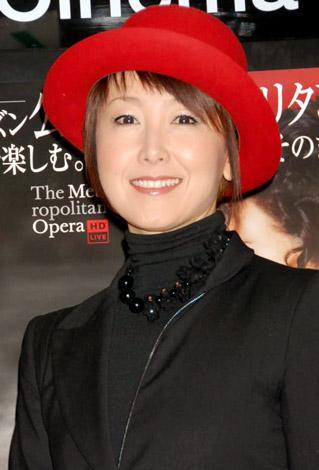 オペラ公演の上映会で『カルメン』を観賞した東ちづる (C)ORICON DD inc.
