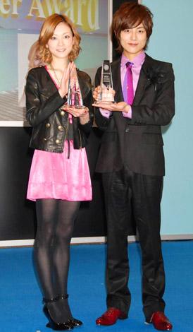 第2回『ベストダイバーアワード』を受賞した(左から)吉澤