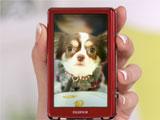 佐々木希のホントの愛犬!マロンちゃん/『FinePix Z700EXR』(富士フィルム)新CM