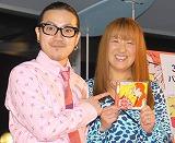シングル「バラード/I LOVE YOU」の発売記念イベントに出席した369、北斗晶 (C)ORICON DD inc.