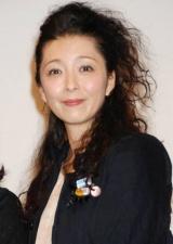 映画『育子からの手紙』の完成披露試写会に出席した有森也実 (C)ORICON DD inc.