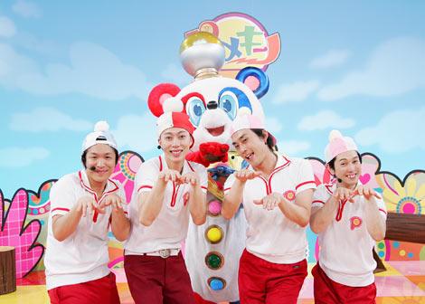 子供番組『ピラメキーノ』がゴールデンタイムに進出!(写真左からはんにゃ、フルーツポンチ)