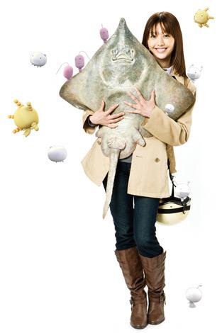 ドラマ『もやしもん』で及川葉月役を務めるはねゆり (C)石川雅之・講談社/ドラマ「もやしもん」製作委員会