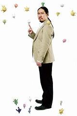 ドラマ『もやしもん』で美里薫役を務める笑い飯の西田幸治 (C)石川雅之・講談社/もやしもん製作委員会(C)石川雅之・講談社/ドラマ「もやしもん」製作委員会