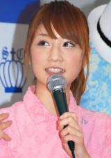『第44回 JAPAN GOLF FAIR 2010』に参加した小倉優子 (C)ORICON DD inc.
