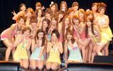 CDデビューイベントに出席した恵比寿マスカッツ(C)ORICON DD inc.