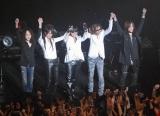 """ToshIの""""ソロラストコンサート""""『武士JAPAN』にゲスト出演したX JAPANのメンバー (C)ORICON DD inc."""