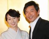 ブログで入籍していたことを明かした東尾理子(左)と夫の石田純一 (C)ORICON DD inc.