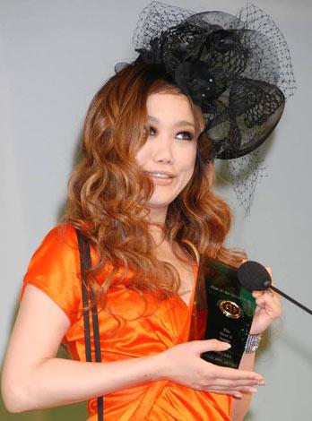 『第24回 日本ゴールドディスク大賞』授賞式に出席したJUJU  (C)ORICON DD inc.