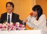 今秋のNHK朝の連続テレビ小説『てっぱん』ヒロインは18歳の瀧本美織 会見ではオーディションから披露していた特技の鼻鳴らしを披露した (C)ORICON DD inc.