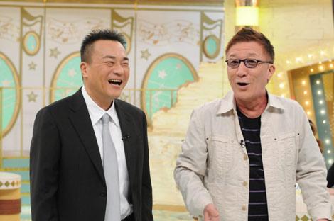 """""""旧知の仲""""であるたかじんの番組で10ヶ月ぶりにテレビ復帰した北野誠(左)"""