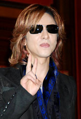 X JAPAN・YOSHIKI (C)ORICON DD inc.