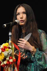 『TOKIO HOT 100 AWARD』の授賞式に登壇したSuperfly