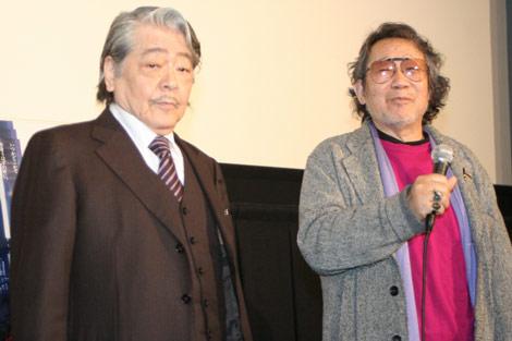 映画『時をかける少女』の公開記念『時かけ映画祭』に出演した(左から)SF小説家・筒井康隆氏、大林宣彦監督 (C)ORICON DD inc.
