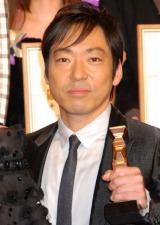 『2010 第33回 日本アカデミー賞』最優秀助演男優賞を受賞した香川照之 (C)ORICON DD inc.
