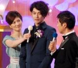『2010 第33回 日本アカデミー賞』授賞式に出席した瑛太 (C)ORICON DD inc.