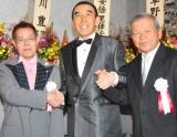 (左から)加藤茶、小野ヤスシ、左とん平 (C)ORICON DD inc.
