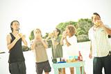 ORANGE RANGE(写真左から YOH、HIROKI、NAOTO、YAMATO、RYO)