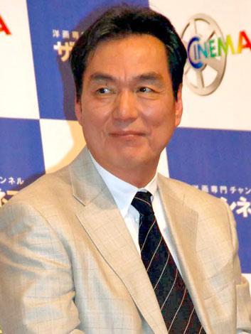 映画『マイレージ、マイライフ』の試写イベントに出席した長塚京三 (C)ORICON DD inc.