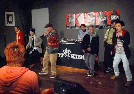 アルバム『シングルコレクション!』の発売を記念して男子30名限定ライブを行ったET-KING (C)ORICON DD inc.