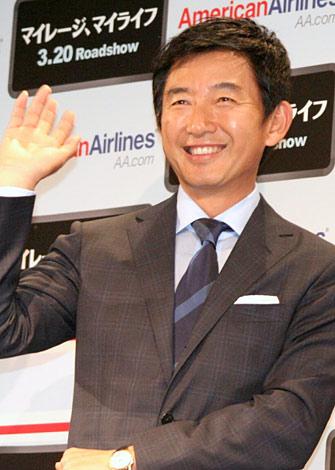 サムネイル 映画『マイレージ、マイライフ』のプレスイベントに出席した石田純一