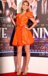 映画『NINE』の完成披露試写会のレッドカーペットイベントに参加した吉川ひなの (C)ORICON DD inc.