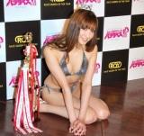 『レースクイーン・オブ・ザ・イヤー 09-10』に輝いた菜々緒 (C)ORICON DD inc.