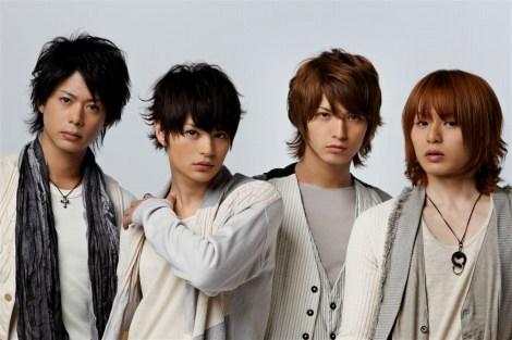 D-BOYSのスペシャルユニット(左から、五十嵐隼士、瀬戸康史、中村優一、荒木宏文)