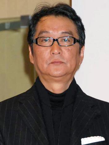 舞台『おくりびと』の制作発表会に出席した滝田洋二郎 (C)ORICON DD inc.