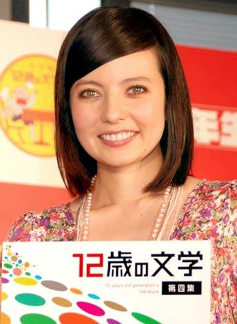 『12歳の文学賞』第四回贈賞式に出席したベッキー (C)ORICON DD inc.
