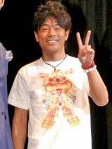 『第2回沖縄国際映画祭』で、韓国映画『My Girlfriend Is an Agent』の舞台あいさつに登壇した陣内智則 (C)ORICON DD inc.