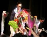『第2回沖縄国際映画祭』で、主演映画『My Girlfriend Is an Agent』の舞台あいさつに登壇したカン・ジファン (C)ORICON DD inc.