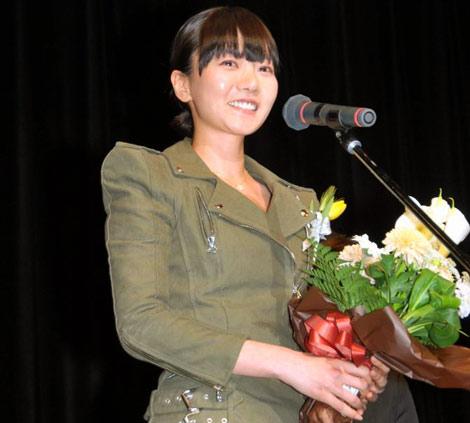 『第24回 高崎映画祭』授賞式に登壇したペ・ドゥナ (C)ORICON DD inc.