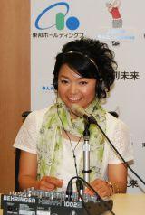 東京・福岡・沖縄のFMラジオ3局ネットで自身初のDJ番組に挑戦する、女子プロゴルファー・上原彩子