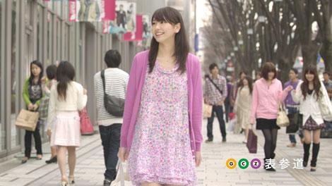新イメージキャラクターとしてCMに出演する新垣結衣新イメージキャラクターとして「東京メトロ」新CMに出演する新垣結衣