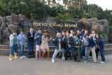 バラエティ番組『いきなり!黄金伝説。』でよゐこ・濱口優、ギャル曽根らが「東京ディズニーリゾート」でグルメ対決! (C)Disney