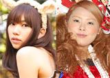 いいとも少女隊を務めた(左から)鈴木凛、渡辺直美